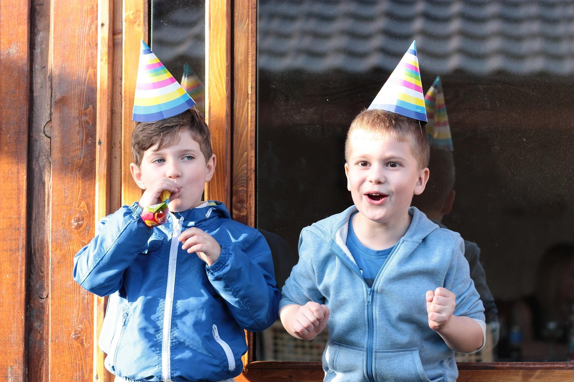 Fiesta de cumpleaños: niños con alergías